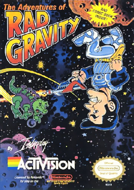 *USED* The Adventures of Rad Gravity