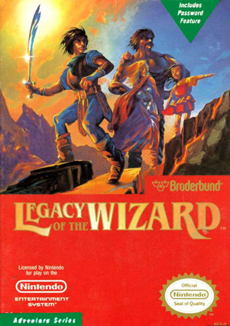 *USED* Legacy of the Wizard