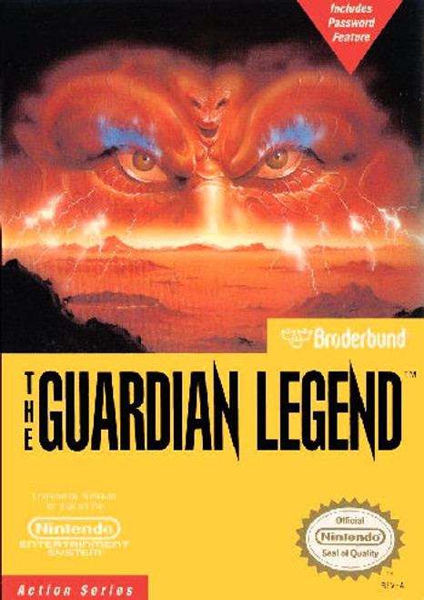 *USED* The Guardian Legend