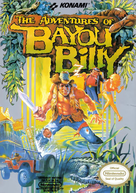 *USED* The Adventures of Bayou Billy