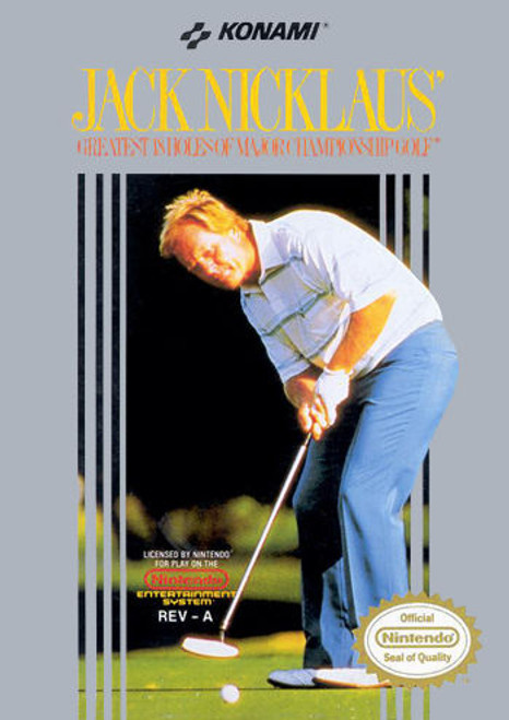 *USED* Jack Nicklaus' Greatest 18 Holes of Major Championship Golf
