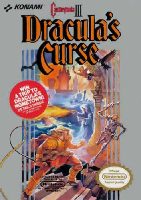 *USED* Castlevania III: Dracula's Curse