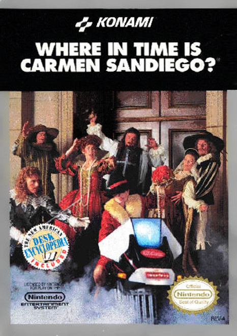 *USED* Where in Time Is Carmen Sandiego?