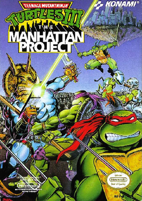 *USED* Teenage Mutant Ninja Turtles III: The Manhattan Project
