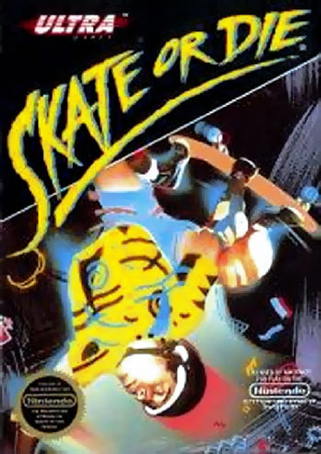 *USED* Skate or Die!