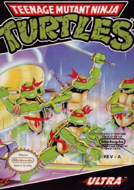 *USED* Teenage Mutant Ninja Turtles