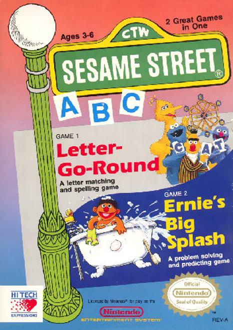 *USED* Sesame Street A B C