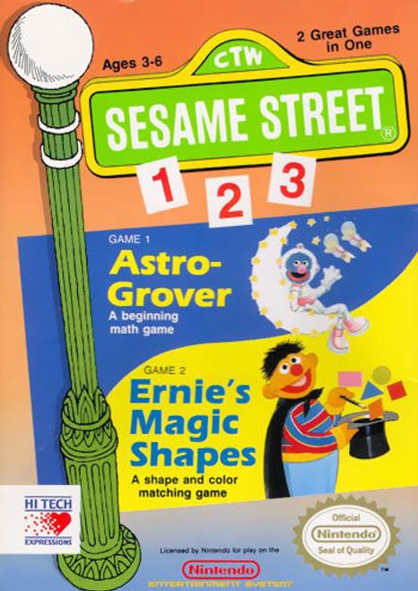 *USED* Sesame Street 1 2 3