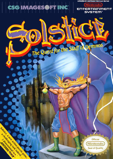 *USED* Solstice: The Quest for the Staff of Demnos