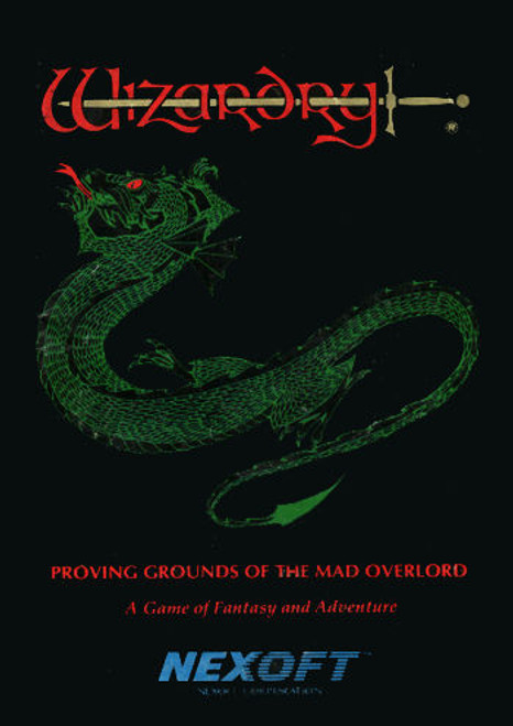 *USED* Wizardry: Proving Grounds of the Mad Overlord