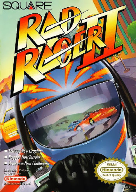 *USED* Rad Racer 2
