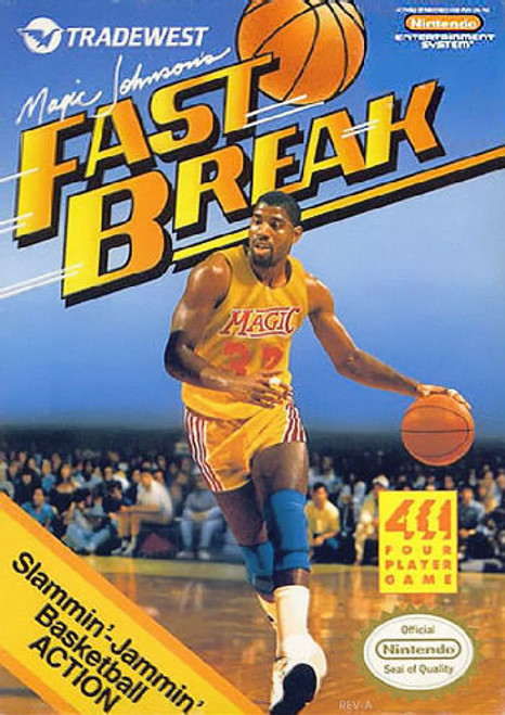 *USED* Magic Johnson's Fast Break