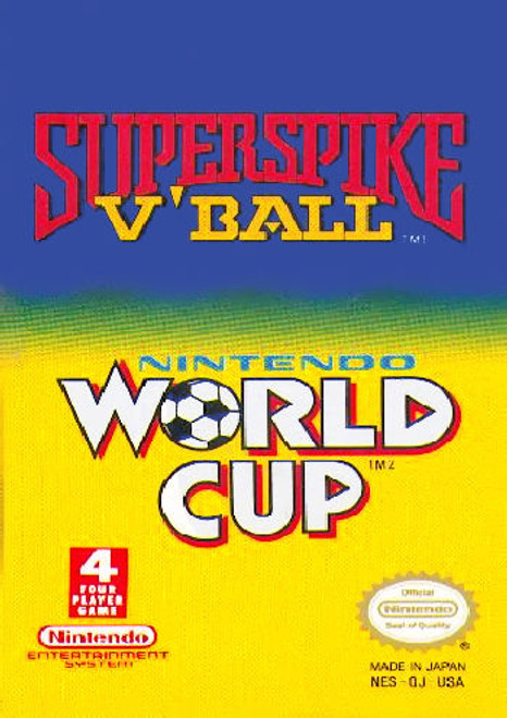 *USED* Super Spike V-Ball & Nintendo World Cup