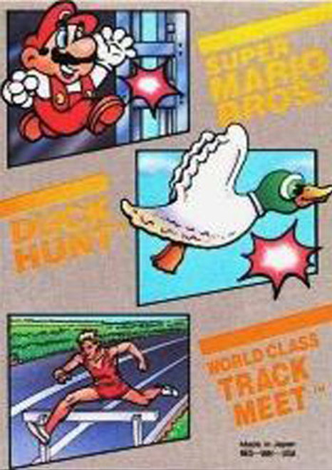 *USED* Super Mario Bros. - Duck Hunt - World Class Track Meet