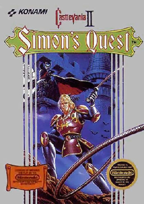 *USED* Castlevania II: Simon's Quest