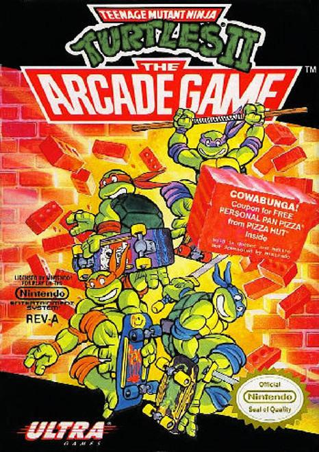 *USED* Teenage Mutant Ninja Turtles II: The Arcade Game