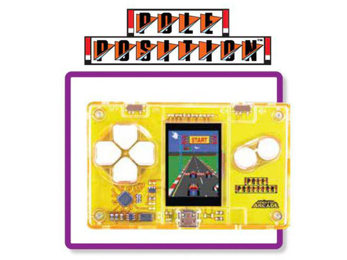 Micro Arcade Pole Position - Pocket Sized Portable Game System