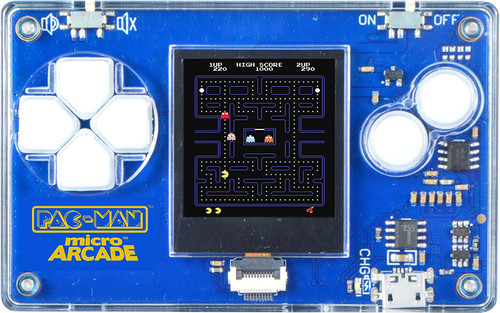 Micro Arcade Pac-Man - Pocket Sized Portable Game System