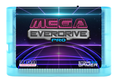 Mega EverDrive Pro (Retro Space) [Glacial]