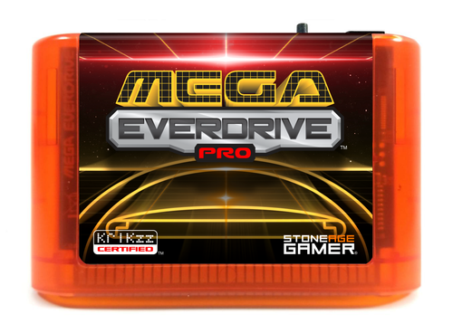 Mega EverDrive Pro (Retro Space) [Fire]