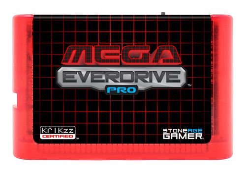 Mega EverDrive Pro (Grid) [Flame Red]