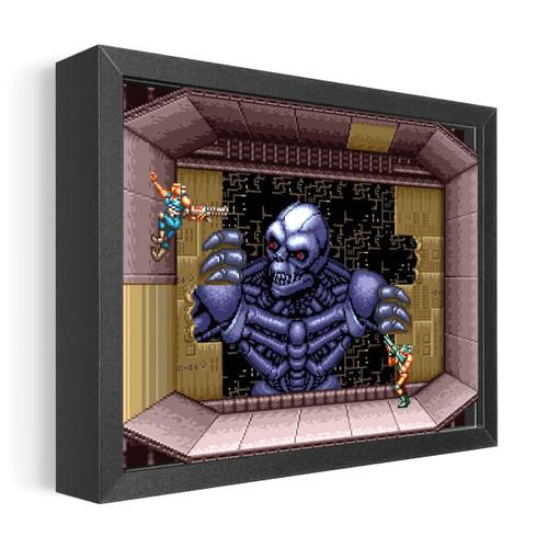 Artovision - Contra 3 Shadowbox Art