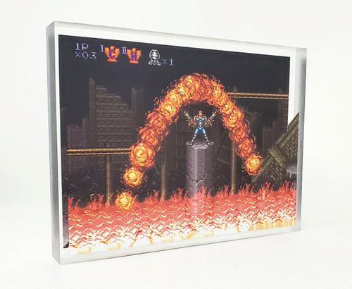 Artovision - Contra III FireBow Desk Art
