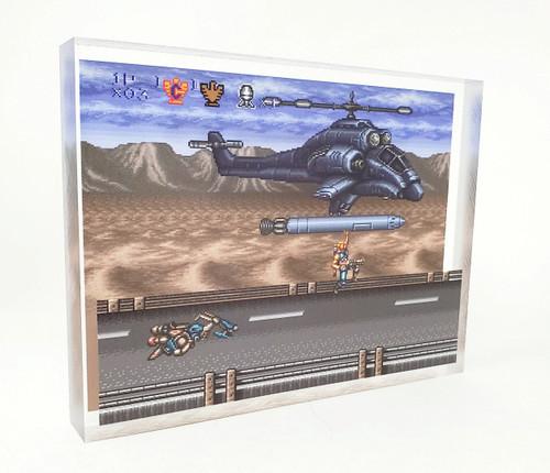 Artovision - Contra III Missile Ride Desk Art