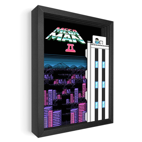 Artovision - Mega Man 2 Shadowbox Art