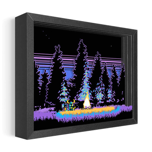 Artovision - Shovel Knight Shadowbox Art