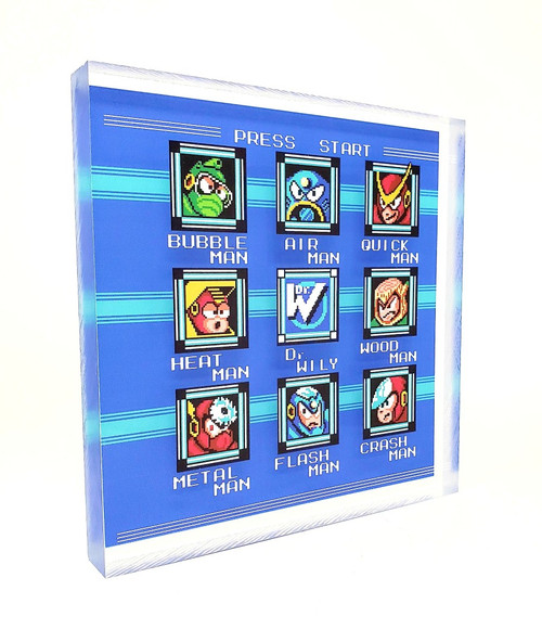 Artovision - Mega Man 2 Desk Art