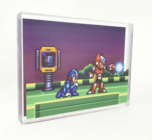 Artovision - Mega Man Meets Zero Desk Art