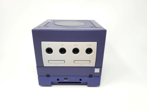Purple GameCube Console - HDMI Modded - Xeno Backup/Region Mod  - Includes GameBoy Player