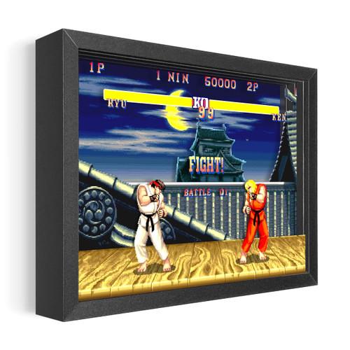 Artovision - Street Fighter  Ryu vs Ken Shadowbox Art