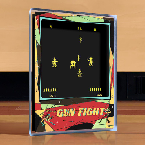 Artovision - Gun Fight Desk Art