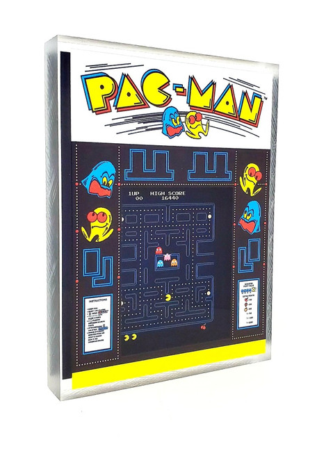 Artovision - Pac-Man Desk Art