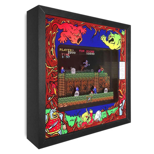 Artovision - Ghosts 'N Goblins Shadowbox Art