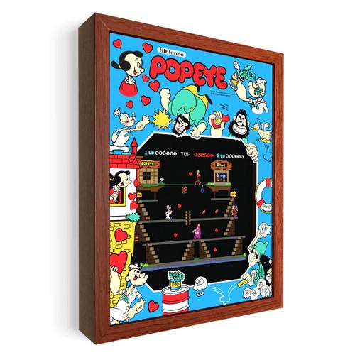 Artovision - Popeye Shadowbox Art