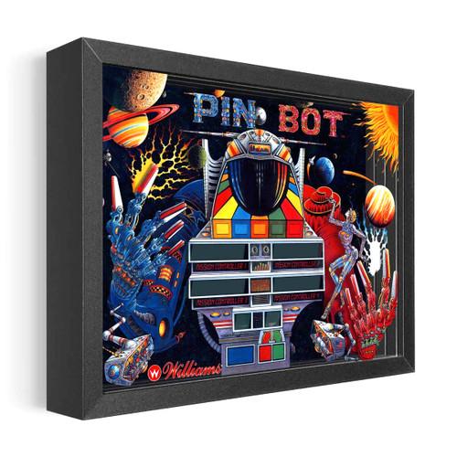Artovision - PinBot Shadowbox Art