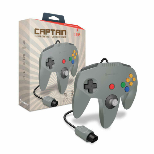 """Captain"" Premium Controller for N64® - Hyperkin"