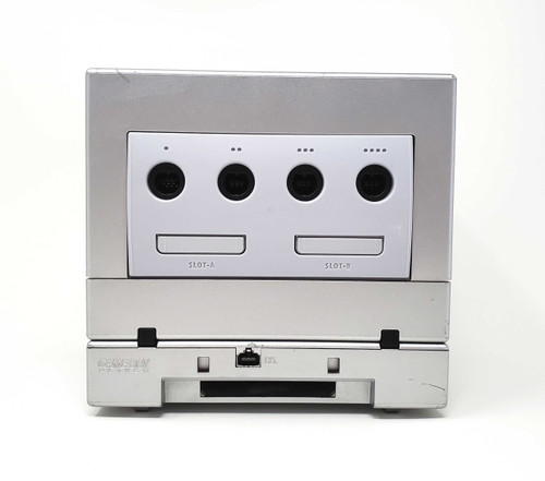 Silver GameCube Console - HDMI Modded - Xeno Backup/Region Mod - Includes GameBoy Player
