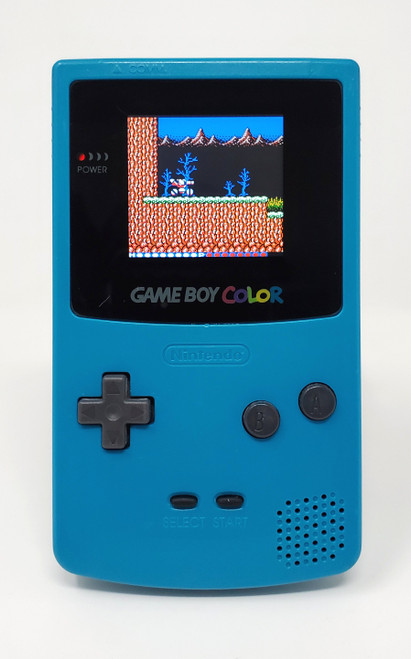 GameBoy Color Teal (Original) - McWill LCD Modified