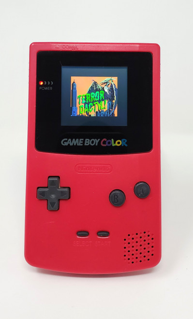 GameBoy Color Berry (Original) - McWill LCD Modified