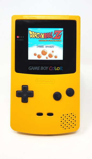 GameBoy Color Dandelion (Original) - McWill LCD Modified