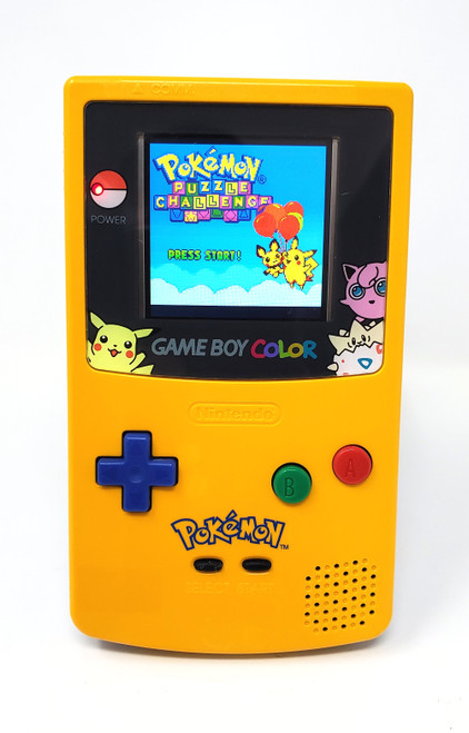 GameBoy Color Pokemon Special Edition (Original) - McWill LCD Modified