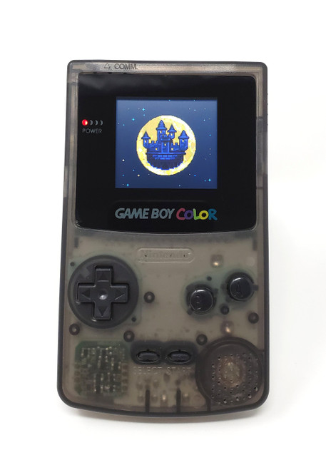 GameBoy Color Smoke (Original - New Shell) - McWill LCD Modified