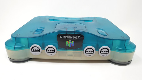 RGB Modified Nintendo 64 Console - Blue / White - Region Free