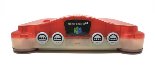 RGB Modified Nintendo 64 Console - Watermelon / White - Region Free