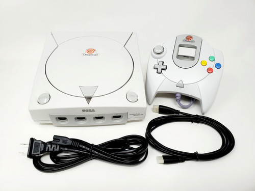 Sega DreamCast Console HDMI Modded - DCDigital Upgraded