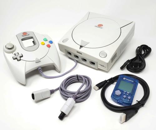 Sega DreamCast Console HDMI Modded - DCDigital Upgraded - Bundle